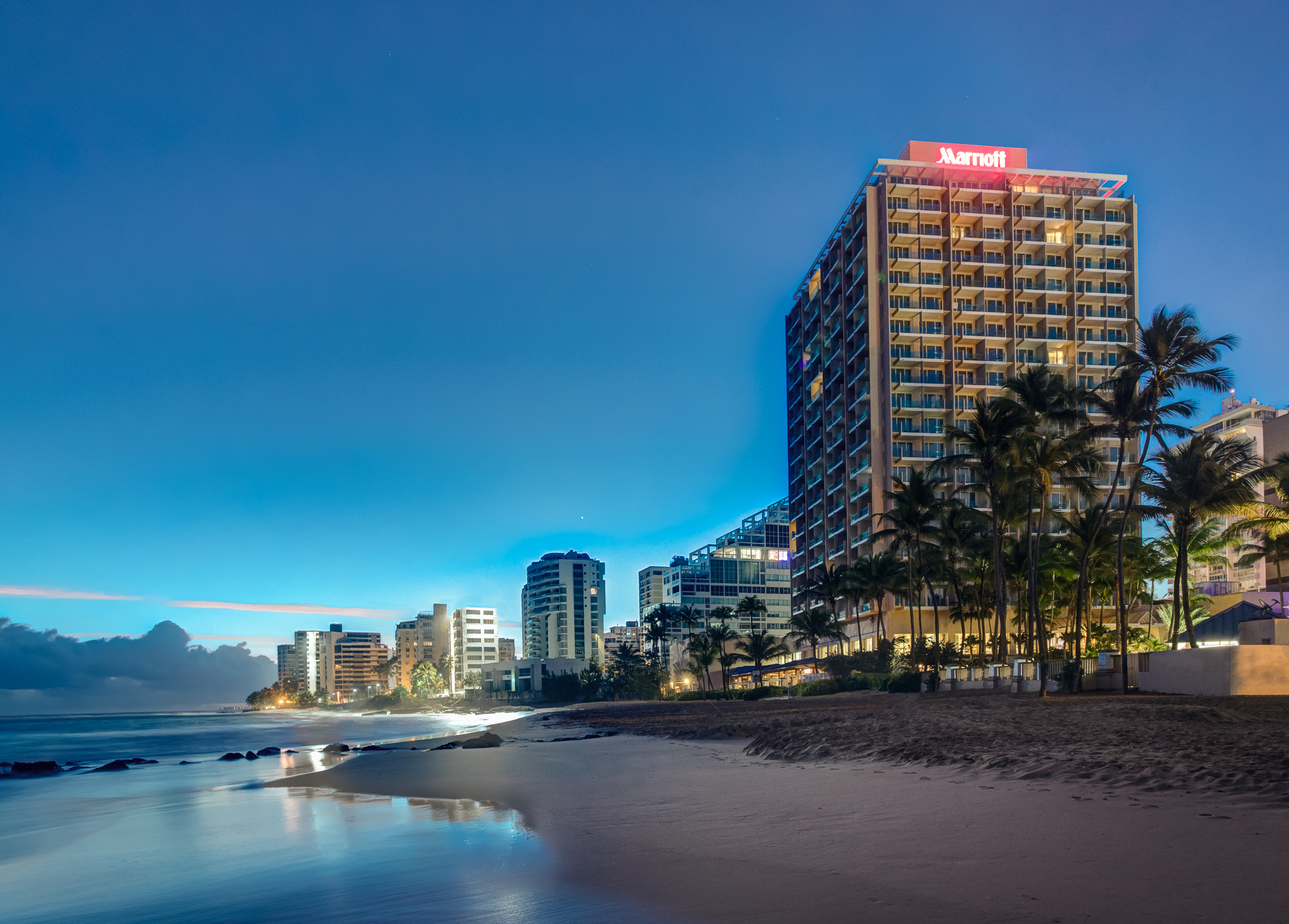 Marriott San Juan Resort Stellaris Casino Beach